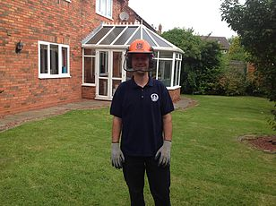 Lichfield Tree Work Employee